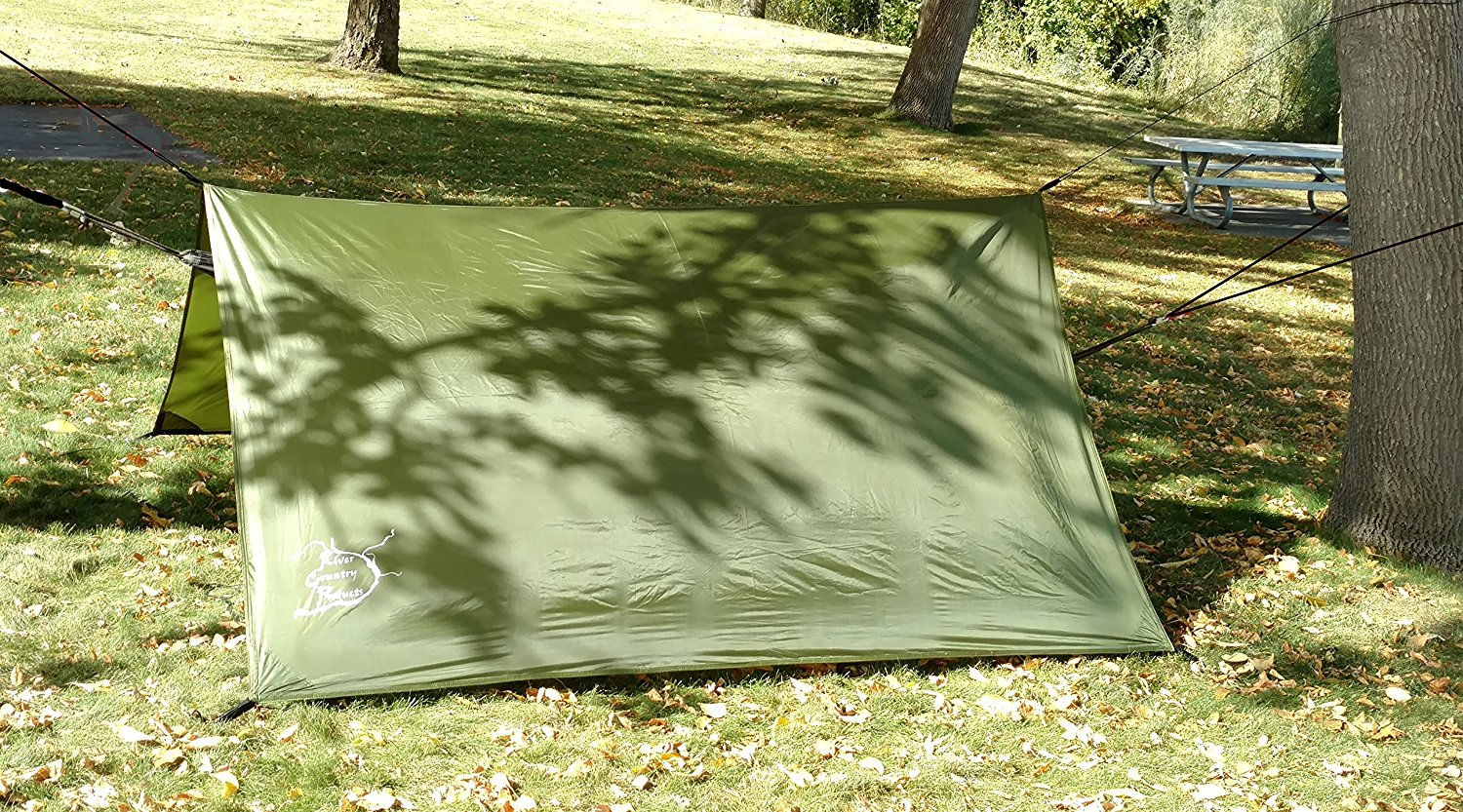 Hammock tent & Hammock rain fly Hammock tarp camping rain fly or backpacking ...
