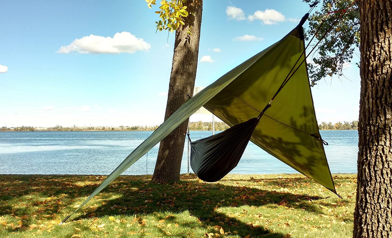 Hammock rain fly, Hammock tarp, camping rain fly or ...