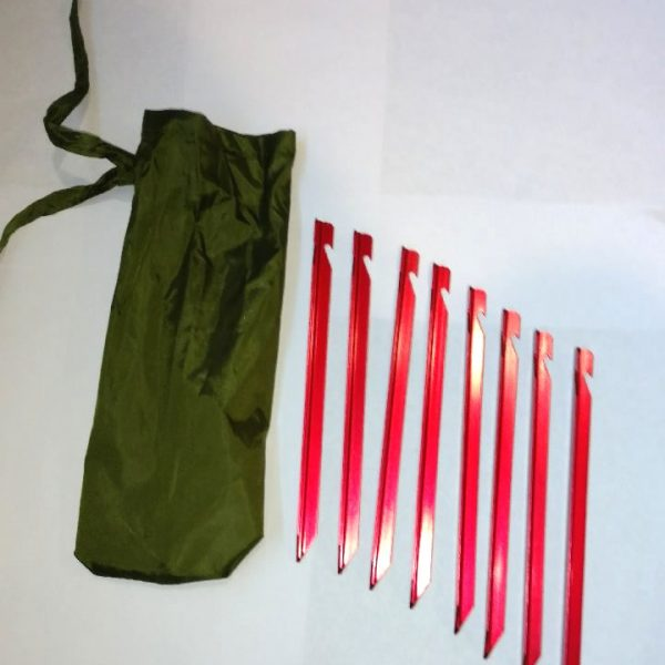 Aluminum Tent Stakes & Tag: Aluminum Tent Stakes | River Country Products