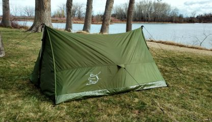 Trekking Pole Tent side 3