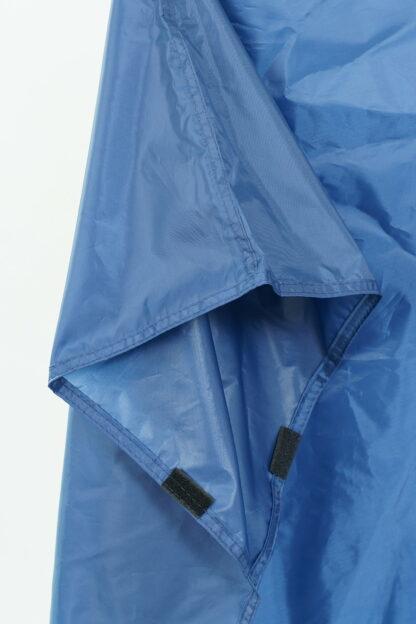 blue backpacking poncho sleeve