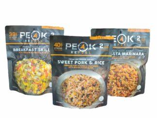 peak meal pack
