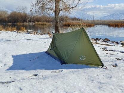 trekker tent 2V with rain fly.